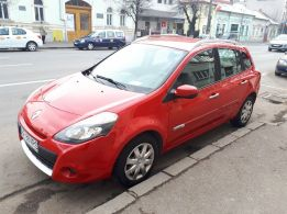 Renault Clio III GrandTour 2010, 1.2/75 CP, 125000 km
