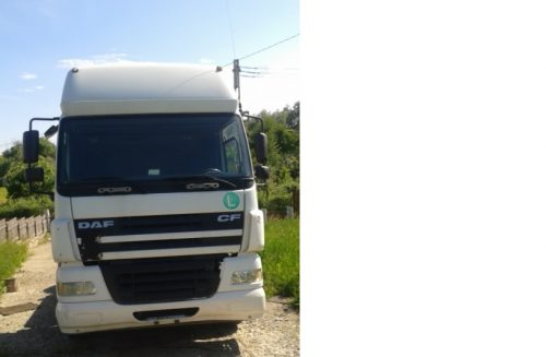 Vand autotractor DAF N3 TE85XC FT 85.430 + semiremorca O4 SCHWARZMULLE